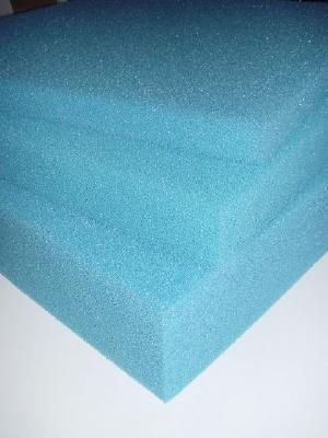 Filterschaum 50x50x10cm 10PPI grob, blau