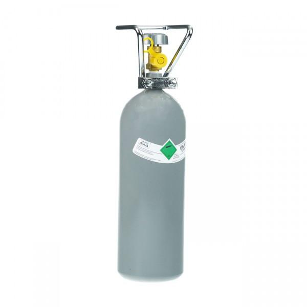 CO2 Mehrweg-Flasche 2kg mit Cage